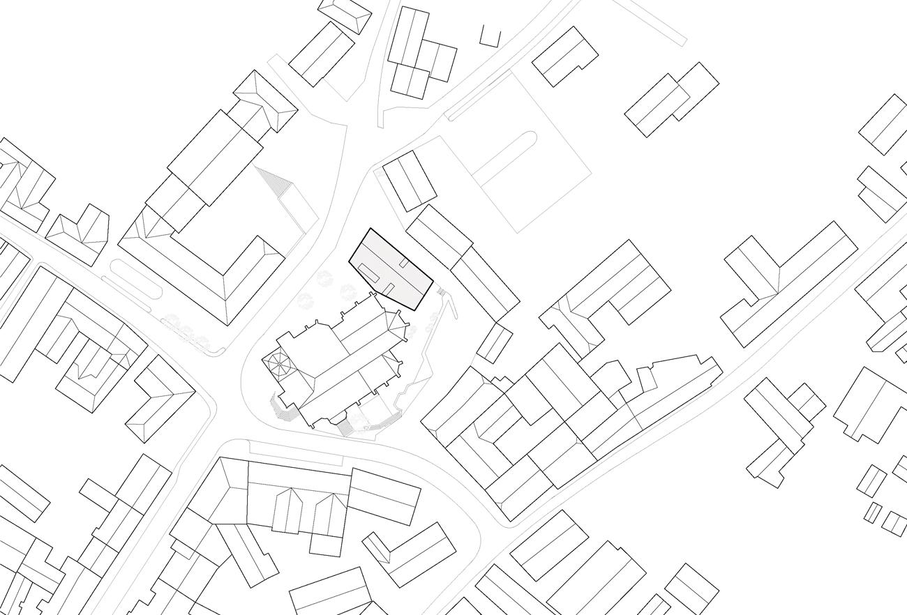 Pfarrheim-Sierning_Lageplan_P2